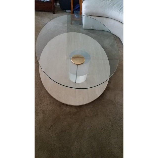 Modern 1970s Lion in Frost Coffee Table For Sale - Image 3 of 10
