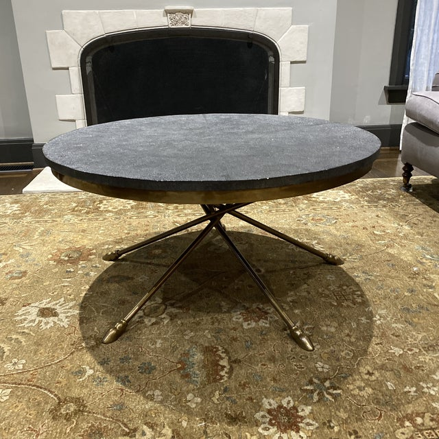Century Furniture Grand Tour Shagreen Style Cocktail Table For Sale - Image 13 of 13