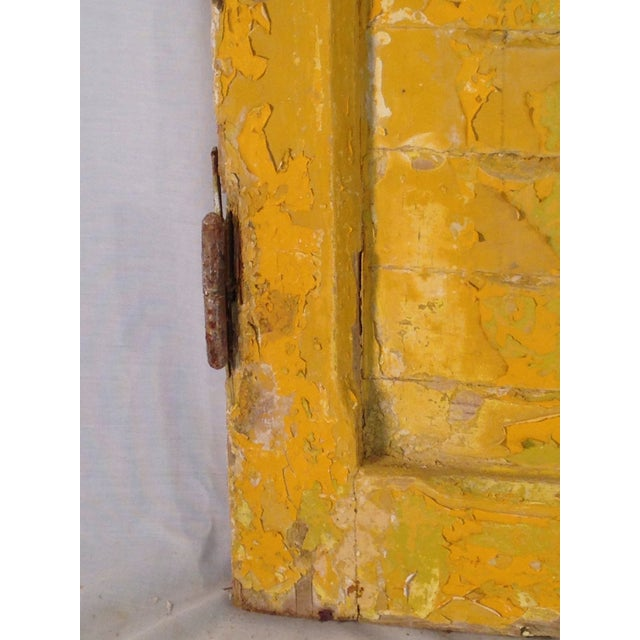 Rustic Arch Top Shutters - a Pair - Image 3 of 8
