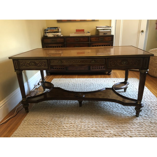 Theodore Alexander Writing Desk For Sale - Image 11 of 11