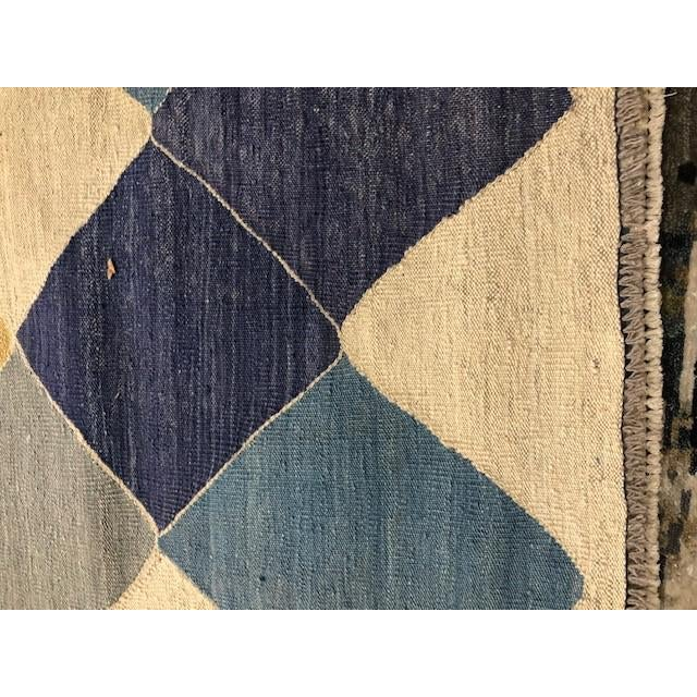 """Contemporary Aara Rugs Inc. Modern Hand Knotted Kilim - 13'0"""" X 10'8"""" For Sale - Image 3 of 5"""