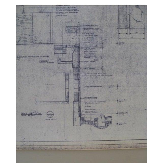 NYC Saarinen 1962 Lincoln Center Blueprint - Image 4 of 5