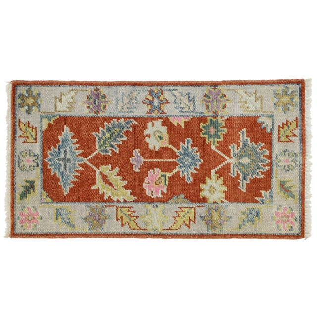 Early 21st Century Oushak Accent Rug- 2' X 3'10 For Sale