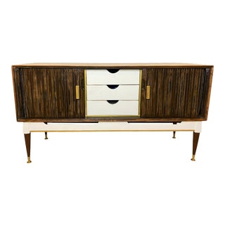 Credenza Sideboard Three Drawers Limited Edition by Brandt Furniture of Character For Sale