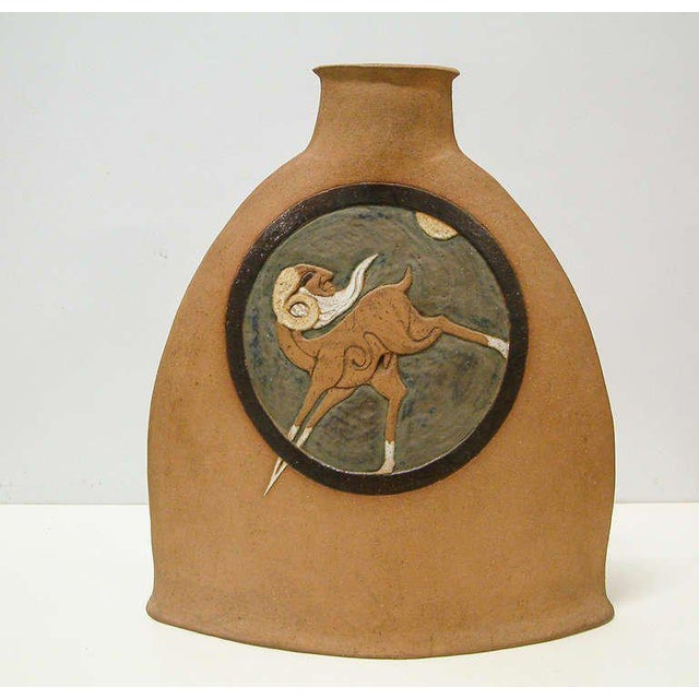 Ceramic Nittenegger Stoneware Vase For Sale - Image 7 of 10