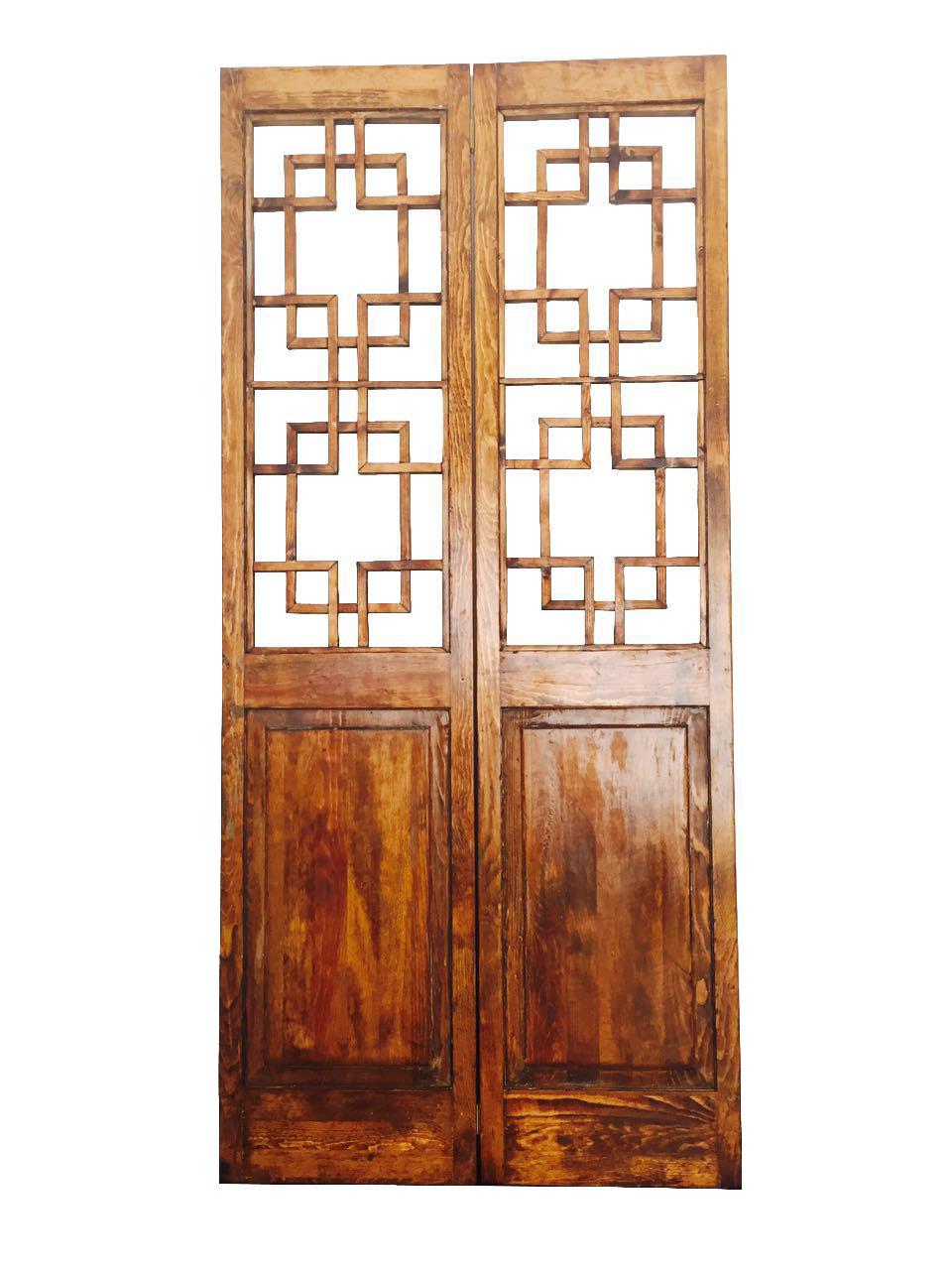 Asian Style 2 Panel Room Divider Screen Chairish