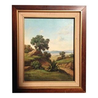 Southwestern Mountain Foliage Landscape Painting For Sale