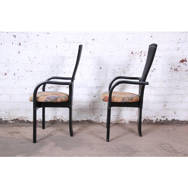 "Mid 20th Century Torstein Nilsen for Westnofa Scandinavian Modern ""Totem"" Armchairs - a Pair For Sale - Image 5 of 12"