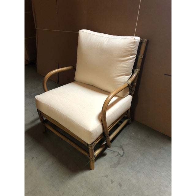 Contemporary Selamat Designs Tan Ava Lounge Chairs - A Pair For Sale - Image 10 of 13