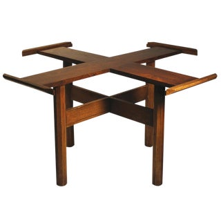 Danish Modern Rosewood Dining Table For Sale