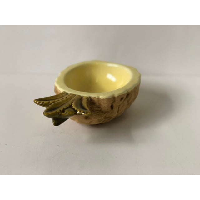 Vintage Pineapple Dish of Ceramic For Sale - Image 9 of 13