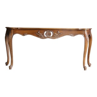 Ethan Allen French Provincial Sofa Table For Sale