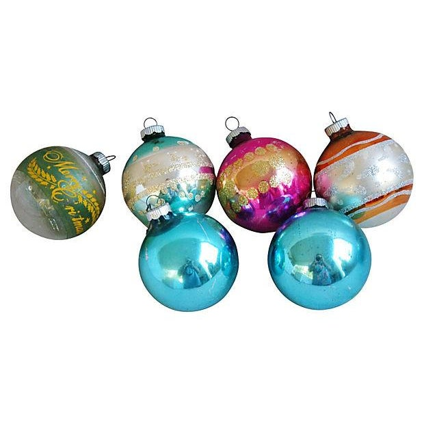 1960s Christmas Holiday Ornaments - Set of 12 - Image 5 of 5
