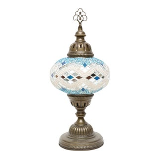 Authentic Turkish Handmade Mosaic Lamp