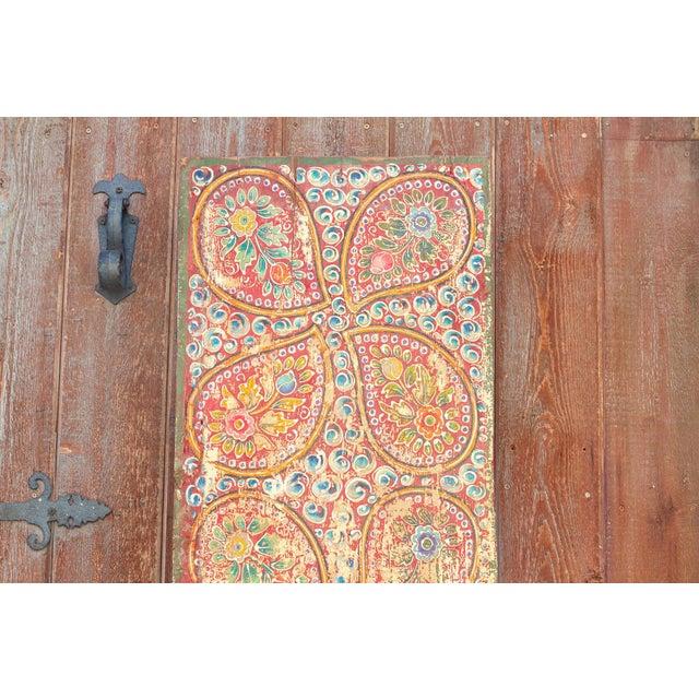 Antique Kunchen Tibetan Door For Sale - Image 4 of 11
