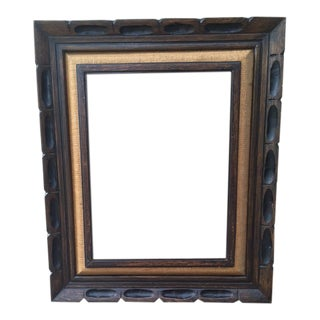 Vintage Rustic Picture Frame For Sale