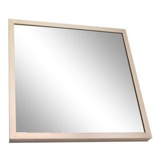 Mid 20th Century Vintage Silver Framed Mirror