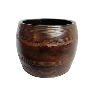 Old Nepal Wood Bowl For Sale
