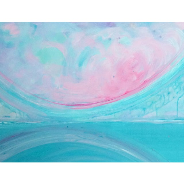 'AFTERLiFE' Original Abstract Painting by Linnea Heide - Image 4 of 5