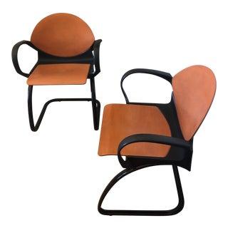 Vintage Steelcase Strafor Gerd Lange Design Chairs