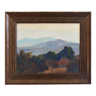 George Barker (1882-1965), Plein Air California Landscape Oil Painting For Sale