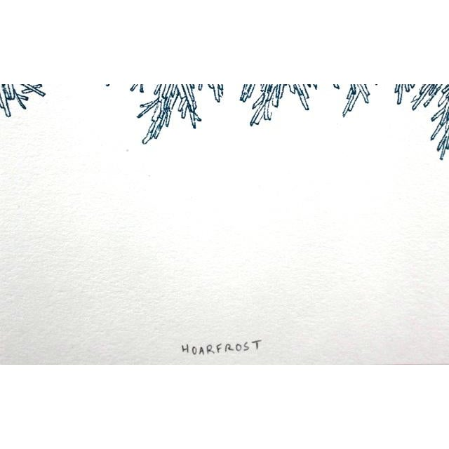 "Todd Freeman ""Hoar Frost"" Risograph Fine Art Print For Sale - Image 5 of 6"