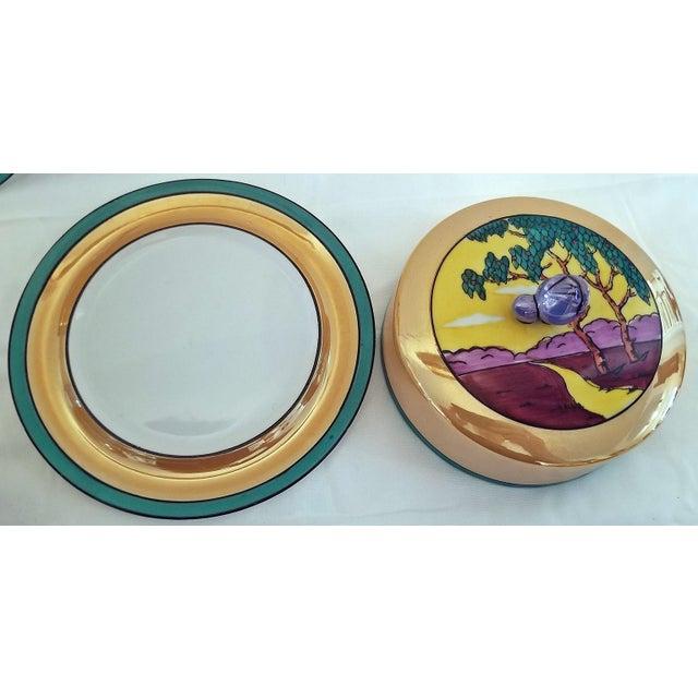 Vintage Noritake Deco 4 Piece Set For Sale - Image 10 of 13