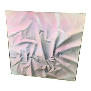 Pink Fabric Still Life Original Painting
