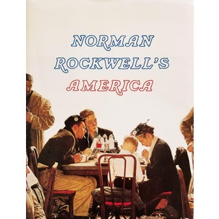 Norman Rockwell's America Coffee Table Book For Sale