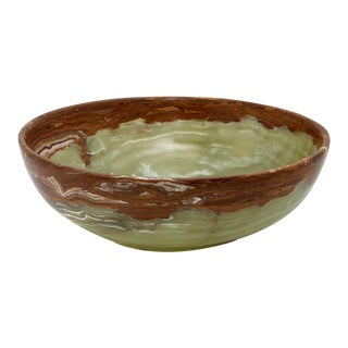 Green Marble Bowl For Sale
