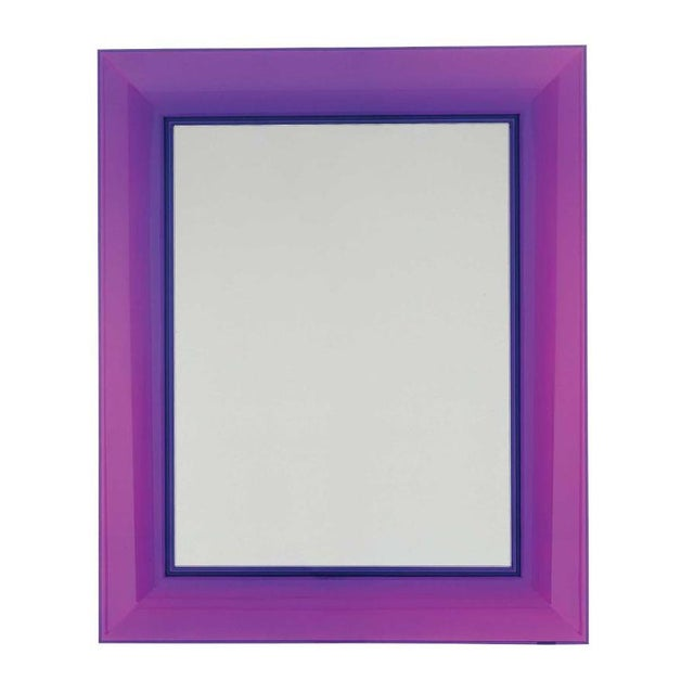 Purple Francois Ghost Mirror by Phillippe Starck for Kartell For Sale - Image 10 of 10