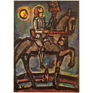 1947 Georges Rouault Notre Jeanne Lithograph For Sale