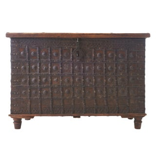 19th Century Indian Dowry Chest For Sale