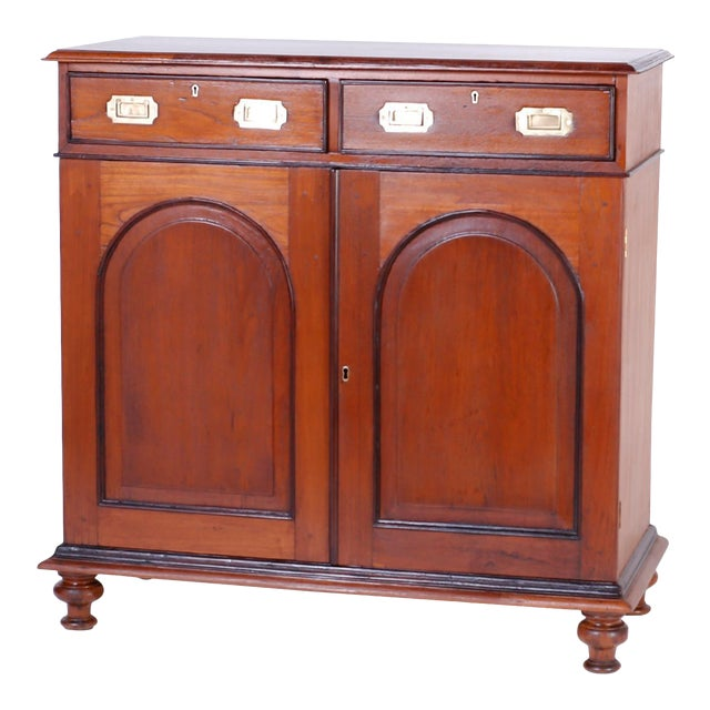 Anglo Indian Two-Door Cabinet or Sideboard For Sale