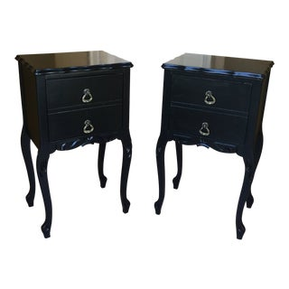 1930 French Country Side Tables - a Pair For Sale