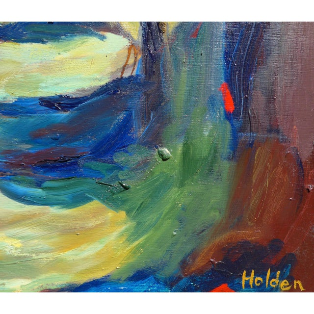 Abstract Painting, Path in the Woods For Sale - Image 4 of 10