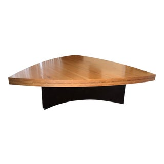 Triangular Modern Dining Table For Sale