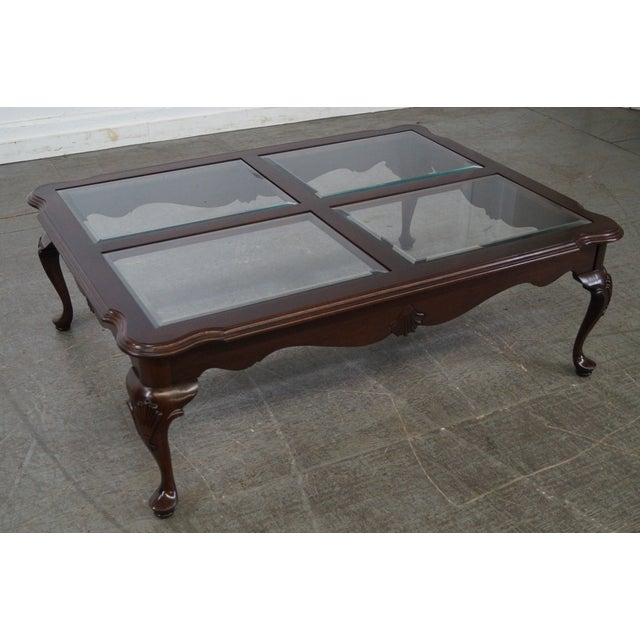 Ethan Allen Georgian Court Coffee Table For Sale - Image 10 of 10