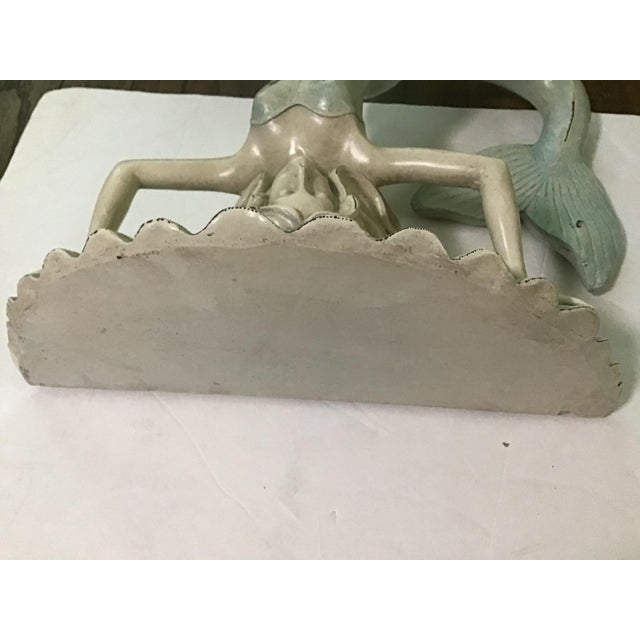 Late 20th Century Nautical Sea Palm Beach Wall Shelf For Sale - Image 5 of 7