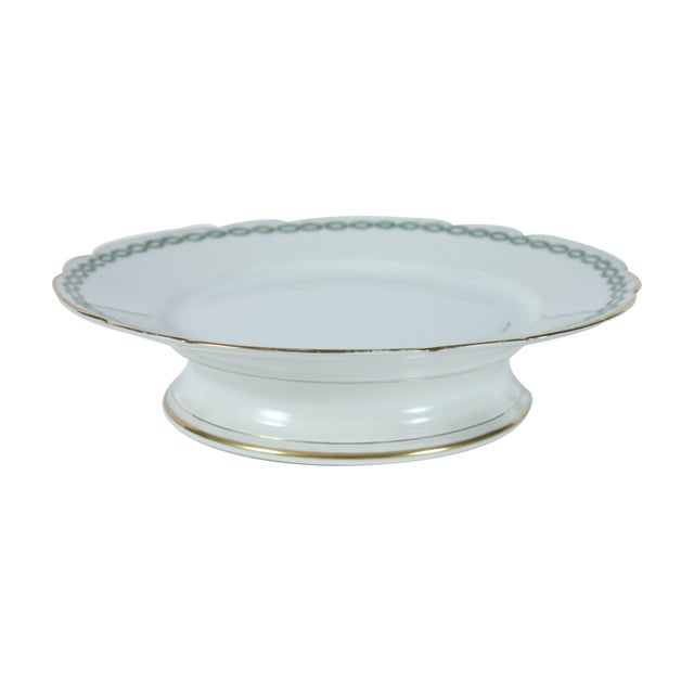 1920's French Limoges Cake Stand - Image 1 of 5