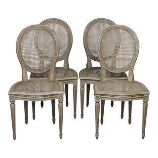 Louis XVI Side Chairs - Set of 4