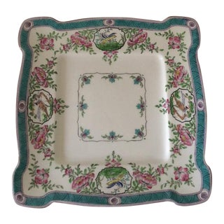 Rare Minton Japonica Square Serving Plate For Sale