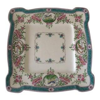 Rare Minton Japonica Square Serving Plate