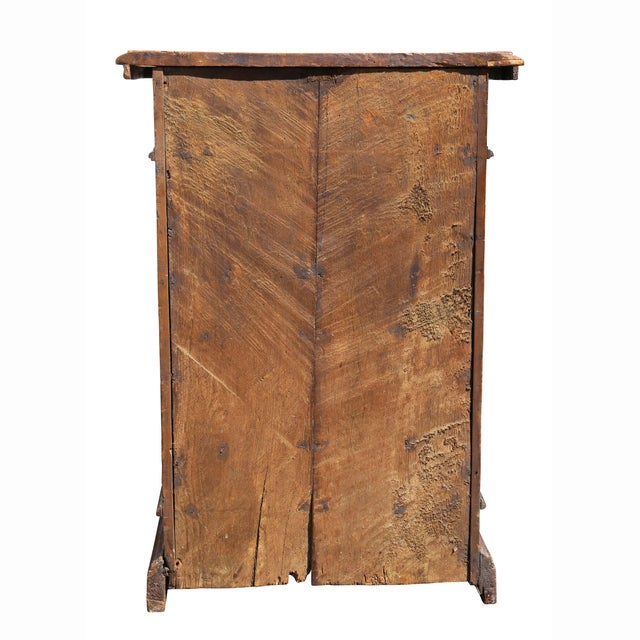 Italian Baroque Walnut Cabinet For Sale - Image 12 of 13