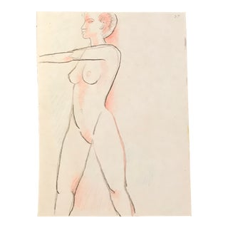 Standing Female Nude, 1990s For Sale