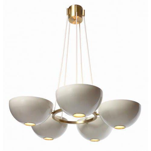 The Round Jackson Chandelier by Studio Van den Akker features five lights and is fully customizable. The Jackson is...