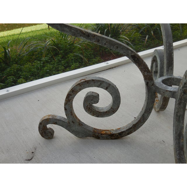 Vintage Palm Beach Iron Table - Image 8 of 11