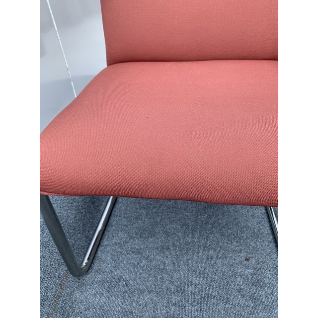 Metal 1970s Chrome Cantilever Chairs Attributed to Thonet - Set of 3 For Sale - Image 7 of 12