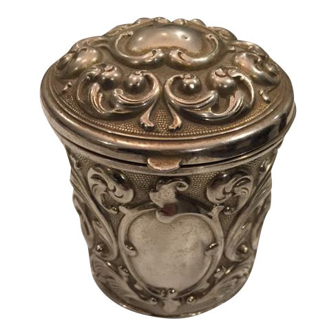 French Silverplate Cigarette Case - Image 1 of 5