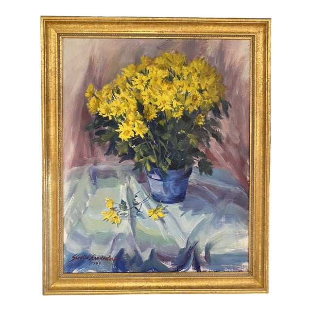 Daisies Still Life Painting For Sale
